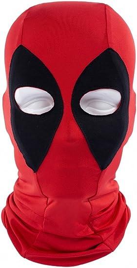ToBe-U - Máscara para Disfraz de Deadpool con Cara Completa para ...