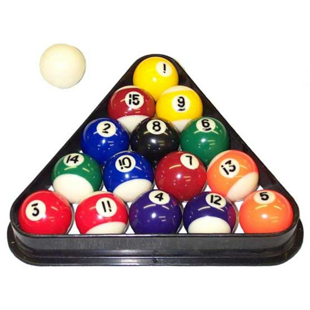 arranged stock triangle photo pool billiard break on in image balls table photos fifteen
