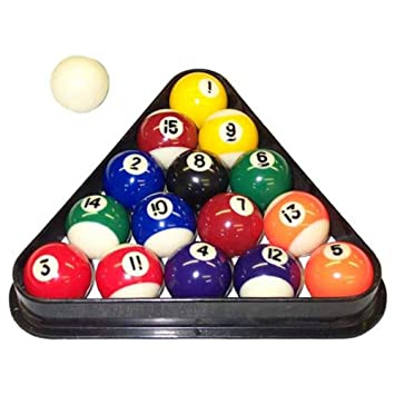 Exceptionnel Miniature Pool Ball Set