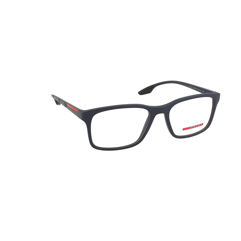 8e89634b3039 Prada PS01LV Eyeglass Frames TWY1O1-52 - Matte Blue PS01LV-TWY1O1-52 at  Amazon Men s Clothing store