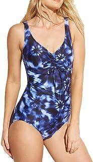 Costumi da Bagno Donna, DressLksnf Costume da Bagno Intero di Grande Formato con Stampa Bikini Sera Abito da Spiaggia Costume da Bagno Nuoto Swimwear