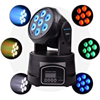 Happybuy 6Pcs Disco Ball Party Lights Sound Activated with Remote Control and Wireless Bluetooth Strobe Light Disco Ball Lights MP3 Crystal Magic Ball DMX Party LED Lights Strobe Lamp 7 Modes