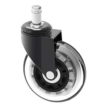 Herrman Repuesto de rueda de silla de 10 mm, protección de madera ...