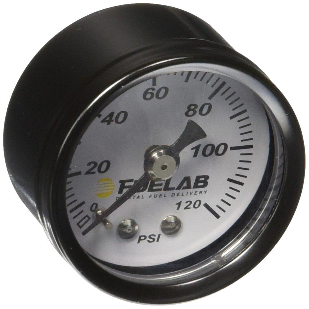 Fuelab 71501 1.5 0-120 Psi EFI Fuel Pressure Gauge
