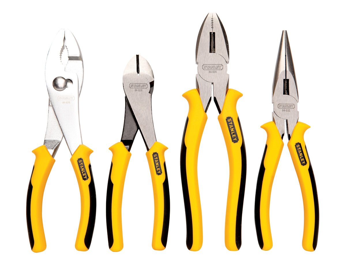 Stanley 84-058 4-Piece Pliers Set by Stanley