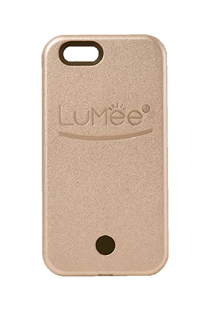 quality design f3fc2 63f12 LuMee Original Light Up Case for iPhone 6 Plus - Rose Gold