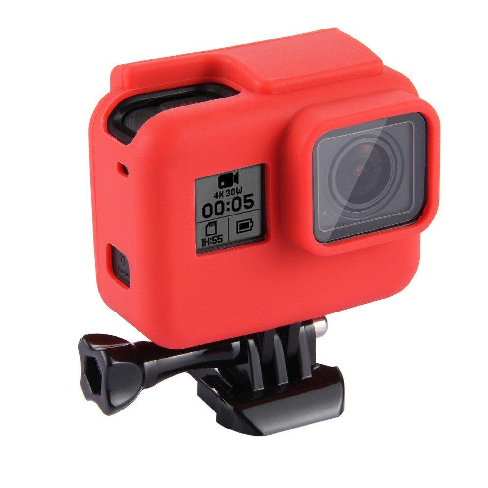 Custodia protettiva in gomma di silicone antipolvere per fotocamera GoPro Hero 5