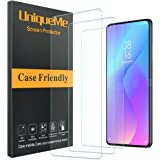 [2 Pack] UniqueMe Screen Protector for Xiaomi Mi 9T Tempered Glass 9H Hardness Bubble Free