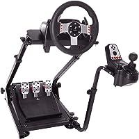Suporte de volante de corrida Minneer para rodas, pedal e câmbio Logitech G25, G27, G29, G920 não incluídos