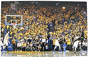 Kyrie Irving Cleveland Cavaliers Cavs Signed Autographed 11 x 17 Finals Game Winning Shot Photo PAAS COA