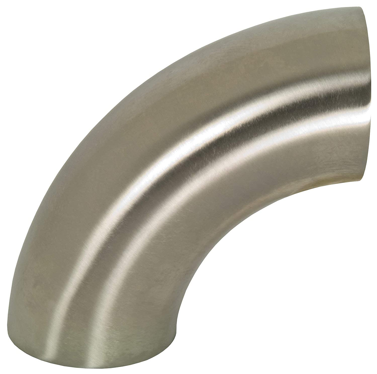 90 Degree Polished Weld Short Elbow 2-1//2 Tube OD Dixon B2WCL-G250P Stainless Steel 304 Sanitary Fitting