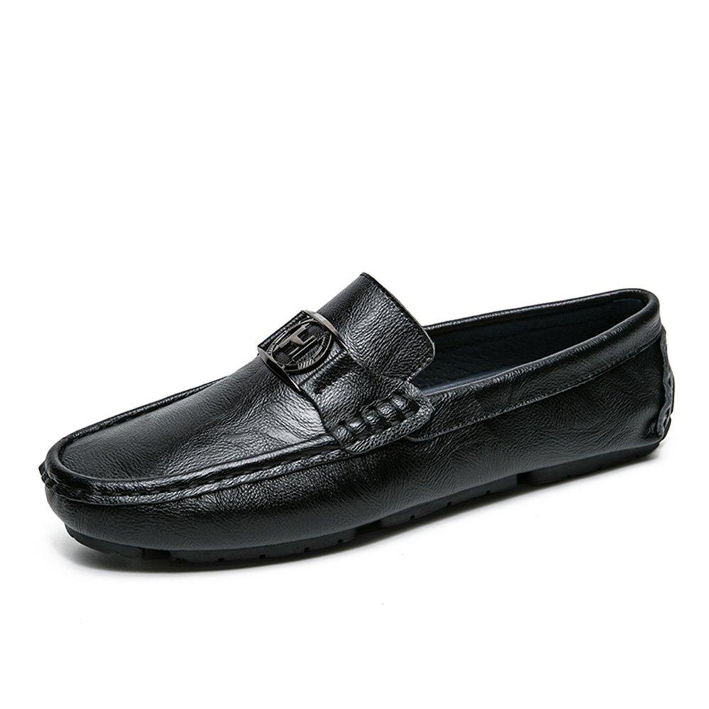 Herrenschuhe Herrenschuhe Herrenschuhe Feifei Herren Freizeitschuhe Sommer Komfortable Persönlichkeit Breathable Casual Faule Schuhe (Farbe   Schwarz, größe   EU39 UK6.5 CN40) ddd8c4