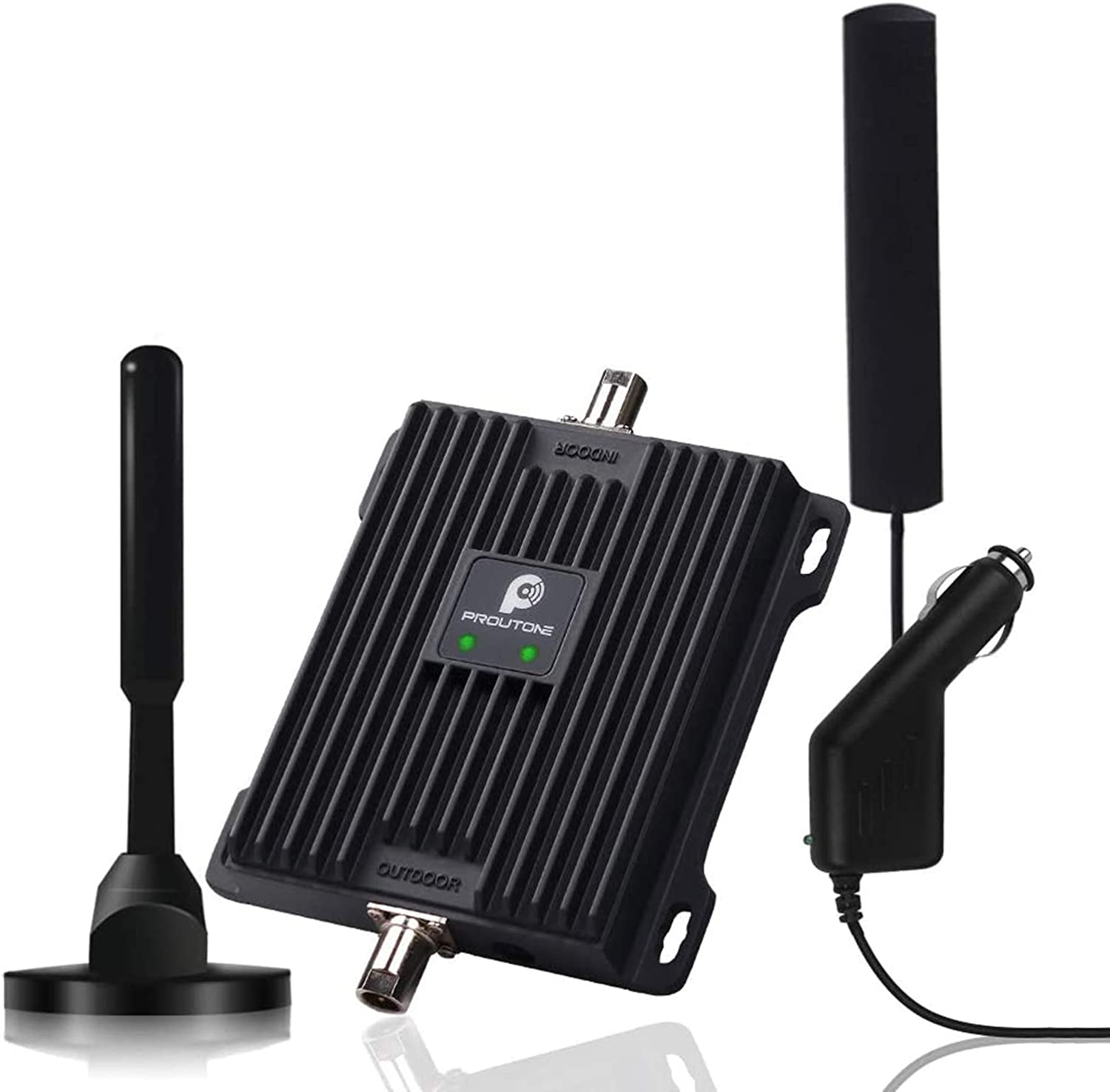 GSM 3G 4G LTE Data and Voice Signal Repeater Cellular Amplifier for Verizon AT/&T T-Mobile US Cellular Sprint and More 5 Bands Cell Phone Signal Booster for RV Motorhome Trailer Camper Cabin Vehicle