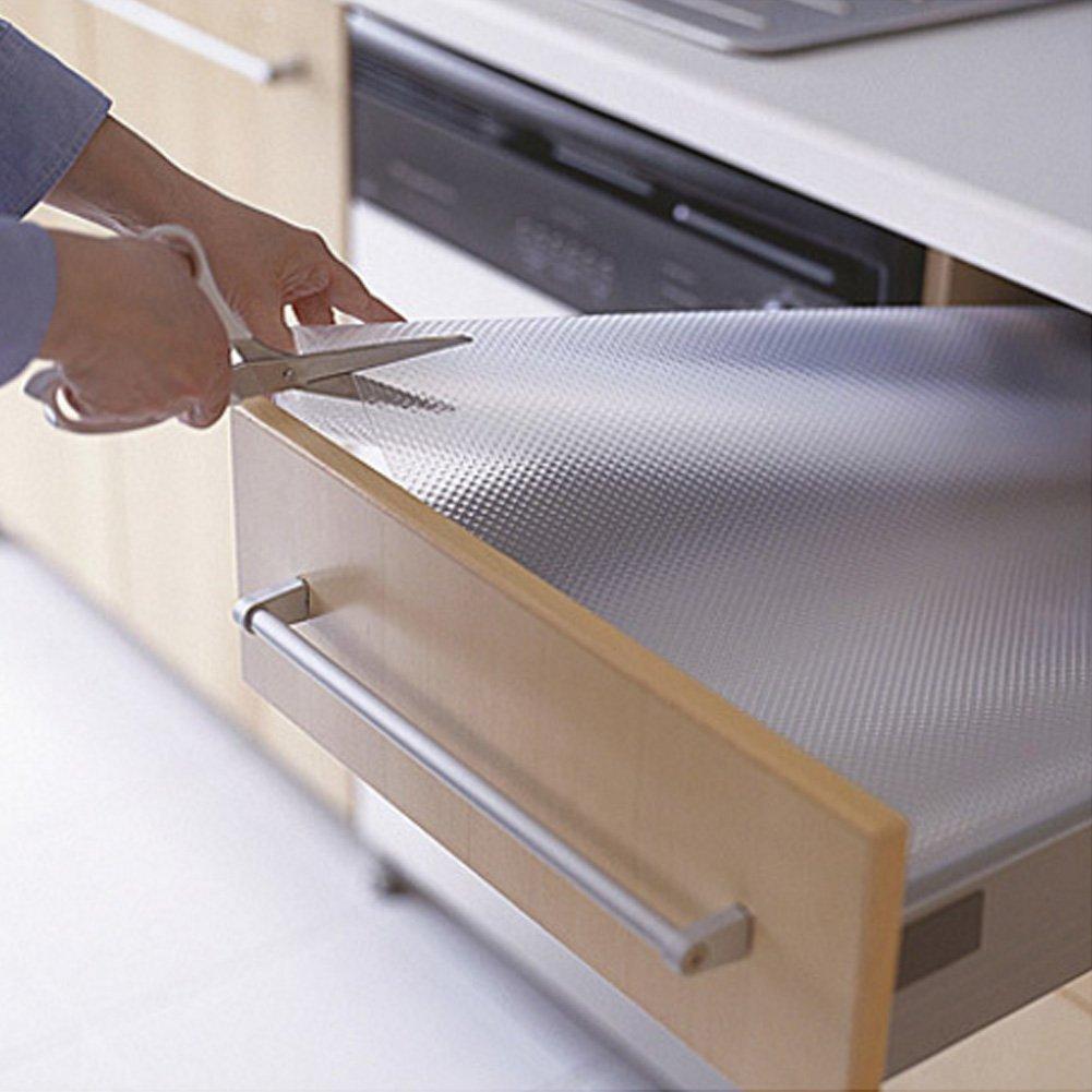 Voir Image 30x150cm Yzki Rev/êtement de tiroir antid/érapant 1 Rouleau EVA Transparent Non adh/ésif /étanche Anti-moisissure pour Placard DIY Multifonction