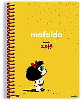 Mafalda 2018 Agenda un día por página (Spanish Edition ...