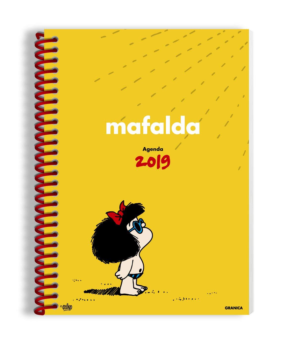 Mafalda 2019 Agenda anillada - Amarilla (Spanish Edition ...