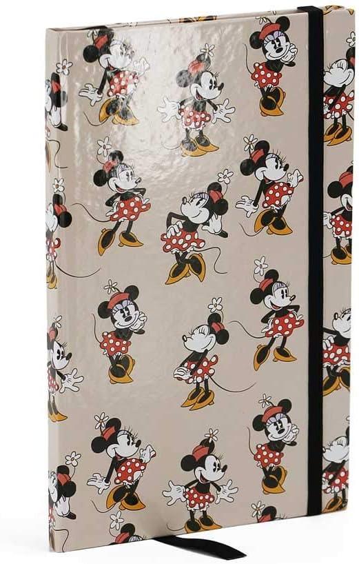 Colore: Beige Karactermani/ía 35066 Minnie Mouse Diario Ivory