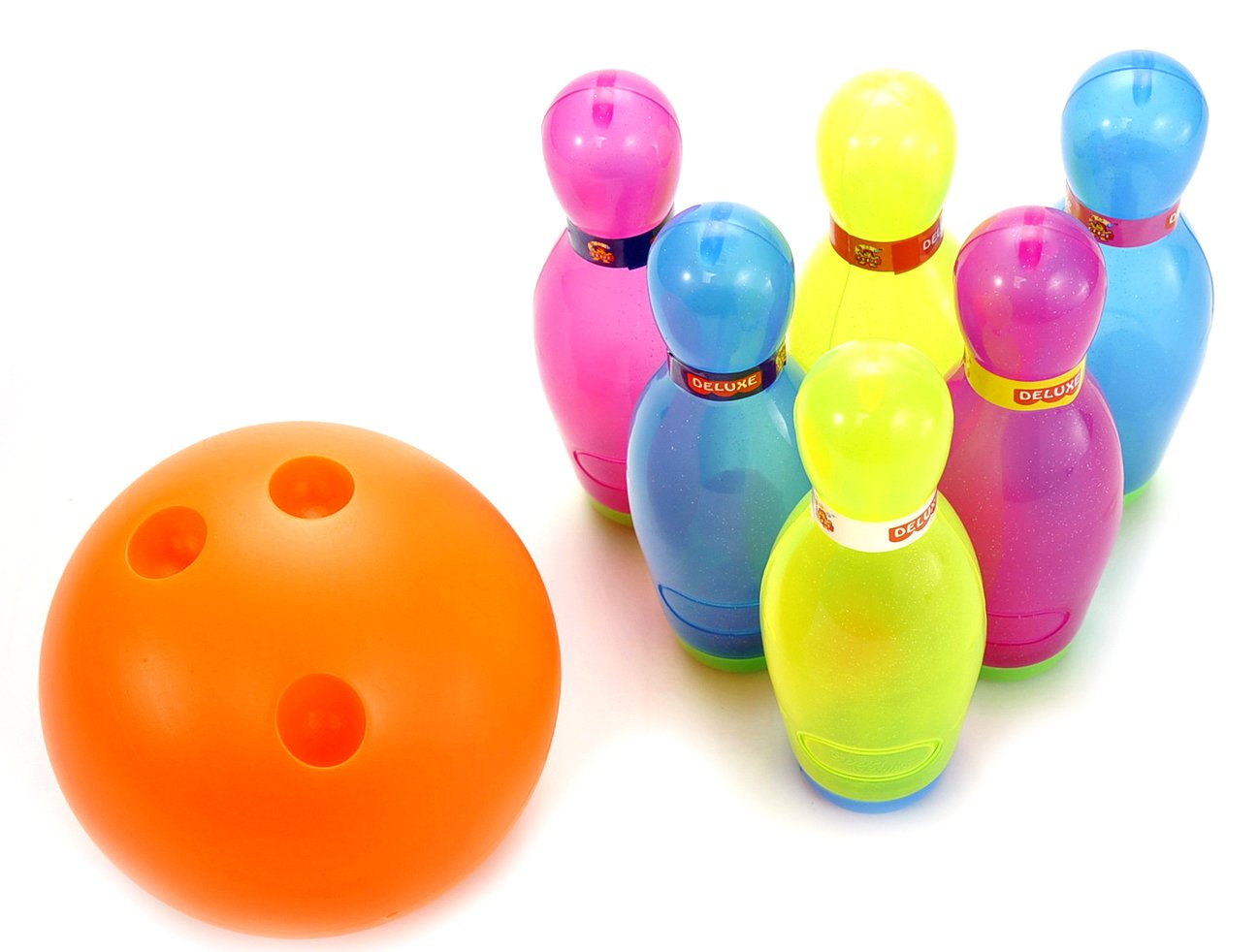 PowerTRC Deluxe Super Bowling Set Toy for Kids