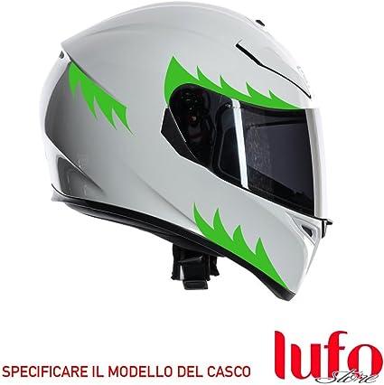 Pegatina Pegatinas para casco verde – x0004d: Amazon.es
