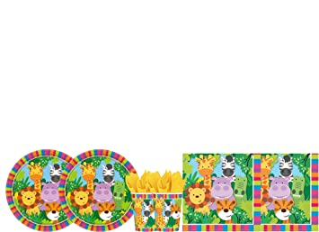 Irpot Kit - A Fiesta DE CUMPLEAÑOS Reino Salvaje: Amazon.es ...