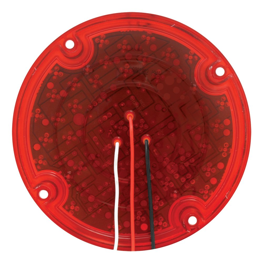 Grand General 82332 Red 7'' 47-LED Sealed Stop/Turn/Tail Light by GG Grand General (Image #2)