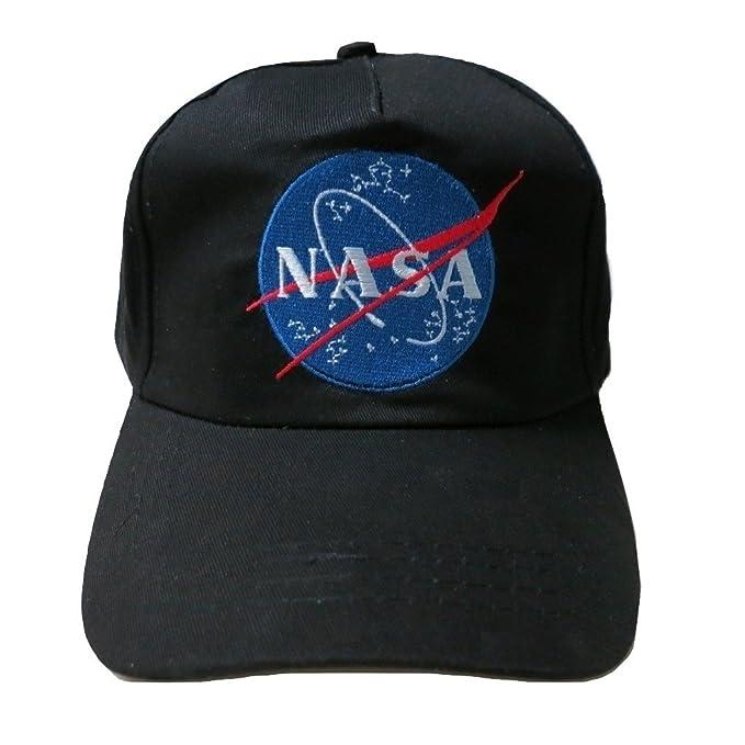 9640986a7b5ce TrendyLuz NASA Insignia Embroidered Baseball Cap Hat (Black) at ...