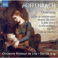Offenbach Overtures La Fille Du Tambourmajeur, Orphee Aux Enfers Arr. Binder, La Belle Helène