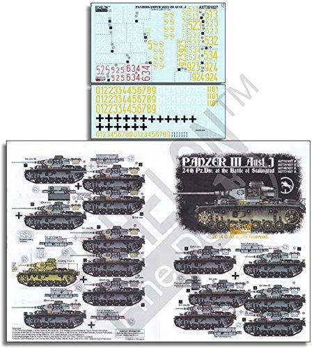 :35 24th Pz Div Panzer III Battle of Stalingrad #AXT351027 (Div Decal)