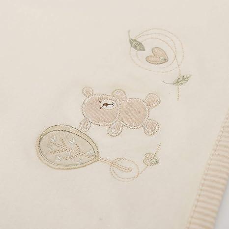 Couverture B/éb/é Gar/çon Fille Enfant Neutre Organic Coton Velours