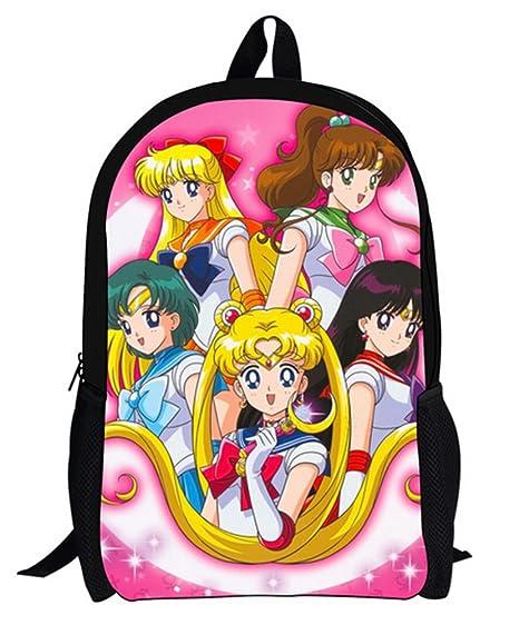 yoyoshome Anime Sailor Moon cosplay mochila bolso de escuela