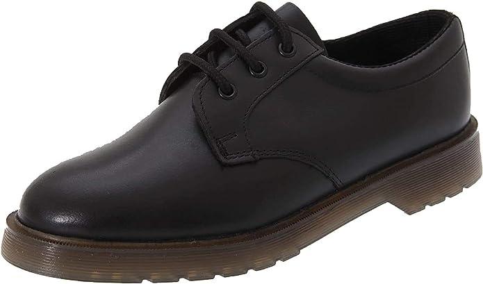 Grafters Zapatos de trabajo con suela acolchada de cuero para hombre - Calzado Aceite resistente a la gasolina Suelas