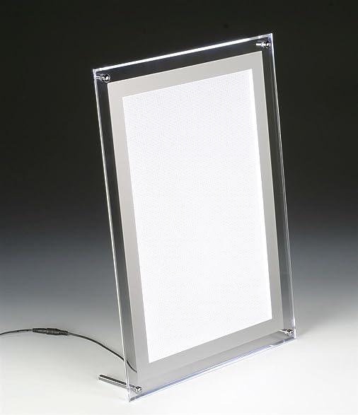 Amazon.com : Displays2go Illuminated Picture Frame for 11 x 11 ...