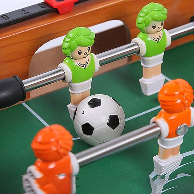 Futbolines Mesa De Futbol Futbolín Juegos De Futbol Juguetes Sanos Rompecabezas Juego Mental Juguetes De Los Niños Juguetes De Más De 3 Años. Regalo para Niños Futbolines: Amazon.es: Hogar