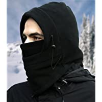 Nikavi BLFM004 Balaclava Mask Face Winter Cap (Black)