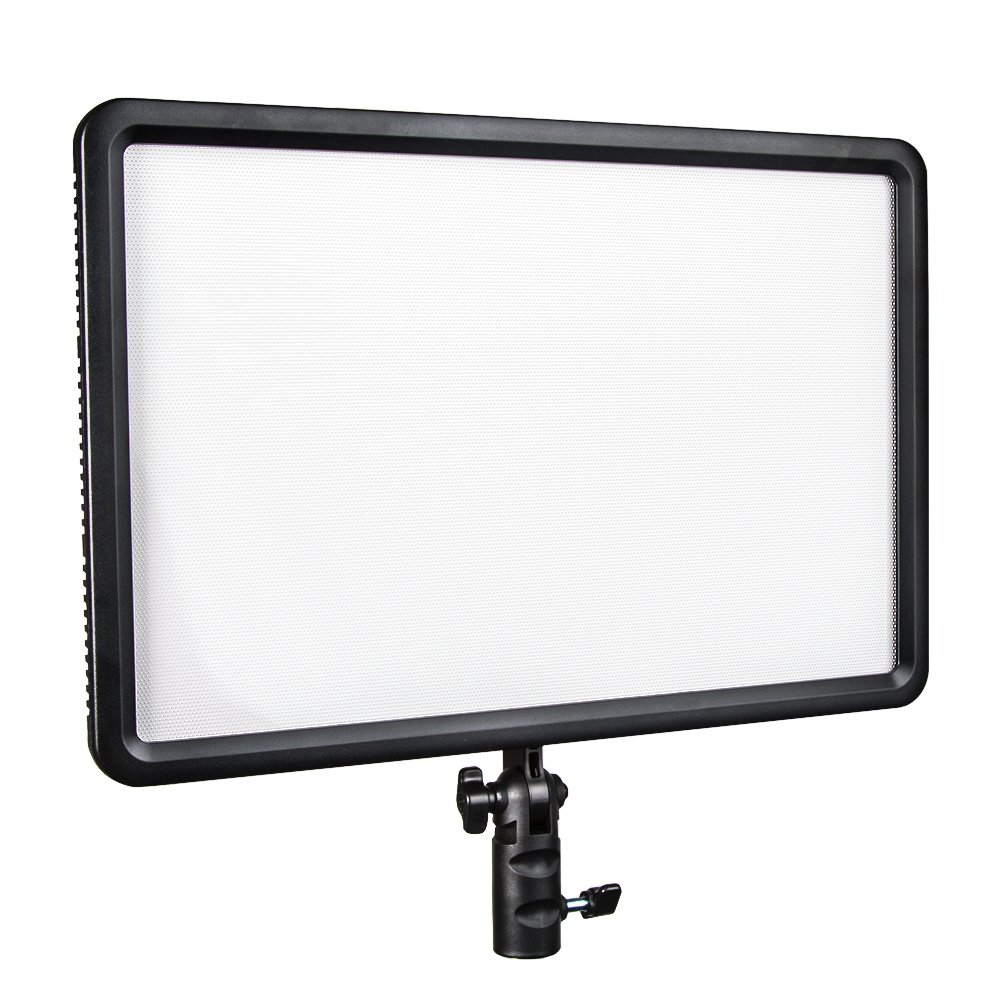 Godox LED Video Light Portable LEDP-260C, Dimmable Lithium Battery and DC Powered LED Video Lighting with Remote Control for Indoors and Outdoors Shooting for DSLR Cameras and Camcorders