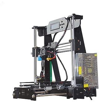 Z.L.FFLZ Impresora 3D P802M DIY Impresora 3D Kit 220 * 220 ...