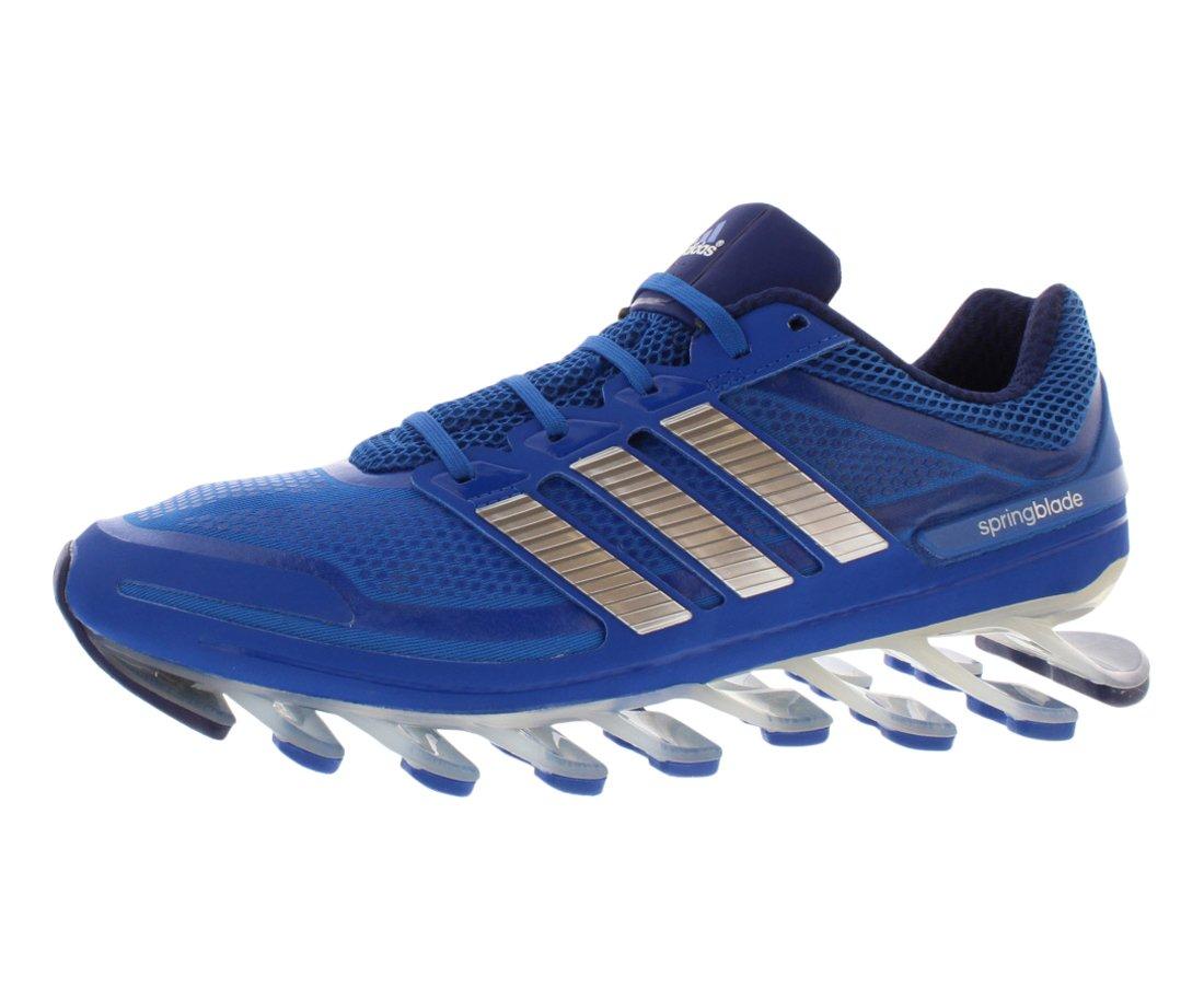 uk availability f4bb4 0984a Galleon - Adidas Men s Springblade Running Shoe, Blue Beauty Metallic Silver  Night Blue, 12 M US