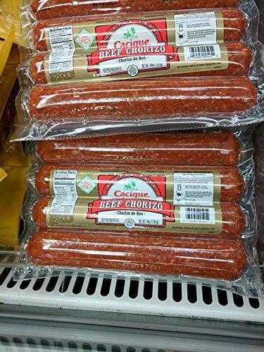 Cacique Beef Chorizo Sausage 48 Oz by Cacique