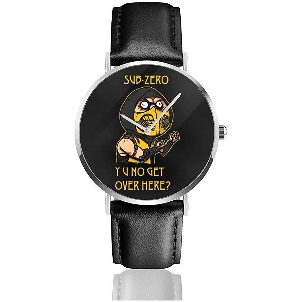 Reloj de Pulsera Unisex Ninja Meme Sub Zero Kombat Relojes ...