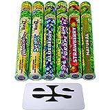 Cyclones Variety Pack Pre-Rolled Flavored Hemp Wraps (6 Packs) Total 10 Wraps with ES Scoop Card