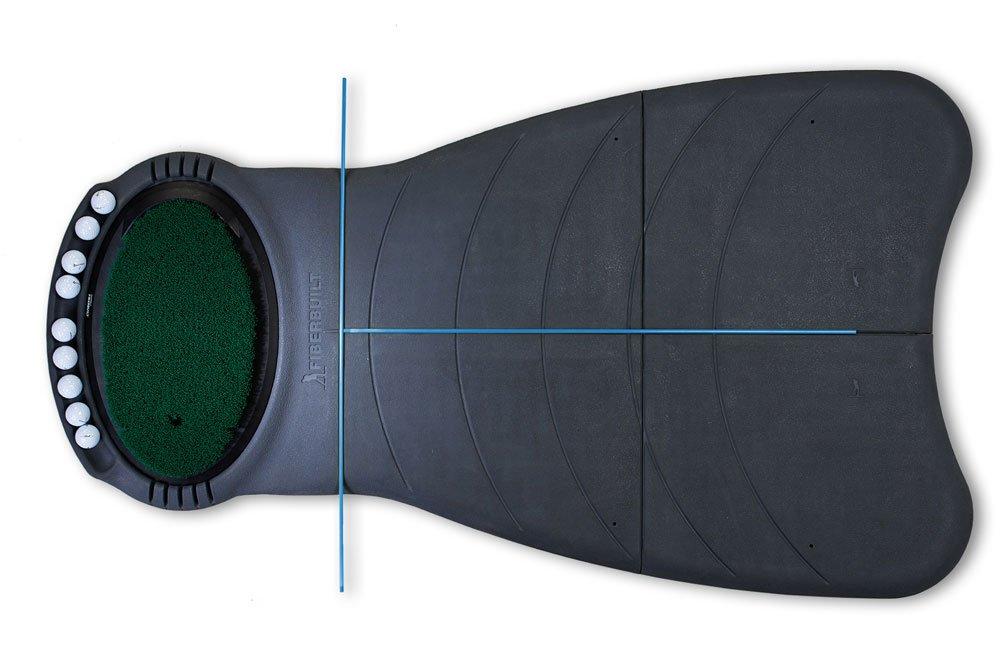 Fiberbuilt Golf 5 x 3 Practice Station Golf Hitting Mat Training System