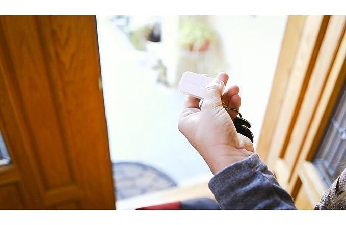 iSmart Alarm Paquete inteligente de seguridad para el estudios y apartamentos de 1 dormitorio, Blanco