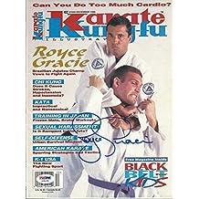Royce Gracie Signed Karate Kung Fu Illustrated Magazine COA UFC 1 Auto'd - PSA/DNA Certified - Autographed UFC Magazines