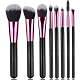 Summifit Makeup Brushes Set Professional Contour Blush Foundation Eyeliner Eyeshadow Mascara Brush Kit