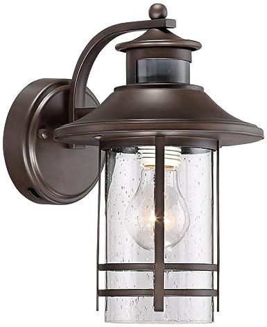 Galt 11 1 4 High Bronze Motion Sensor Outdoor Wall Light Amazon Com