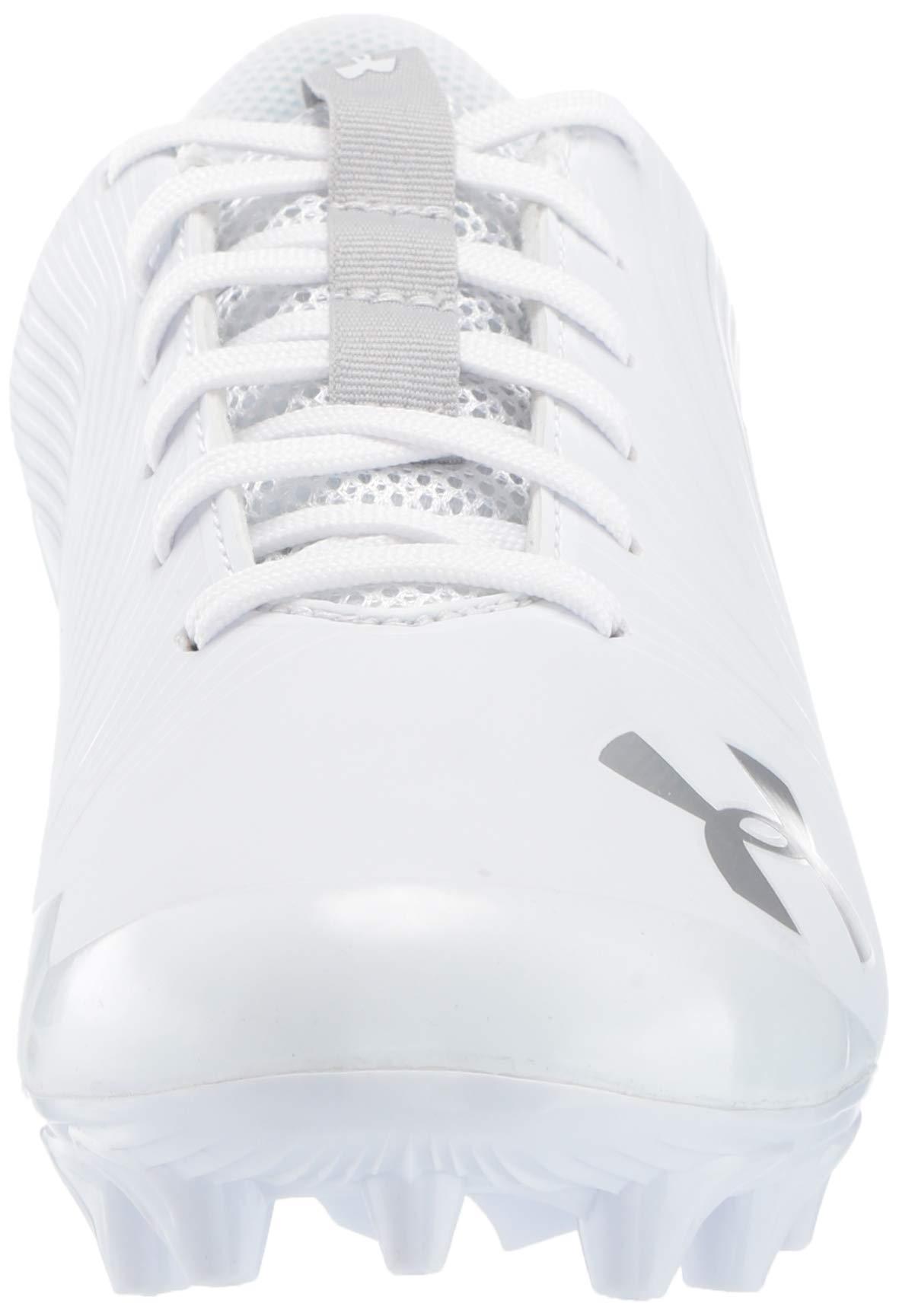 Under Armour Men's Speed Phantom MC Football Shoe, White/White, 7.5 M US by Under Armour (Image #4)