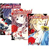 Savanna Game 1º Temporada - Caixa com Volumes 1 a 3