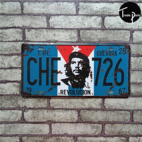 MOUSE POSTER STAR !!!Che Guevara Che 726 Car Number Plates R