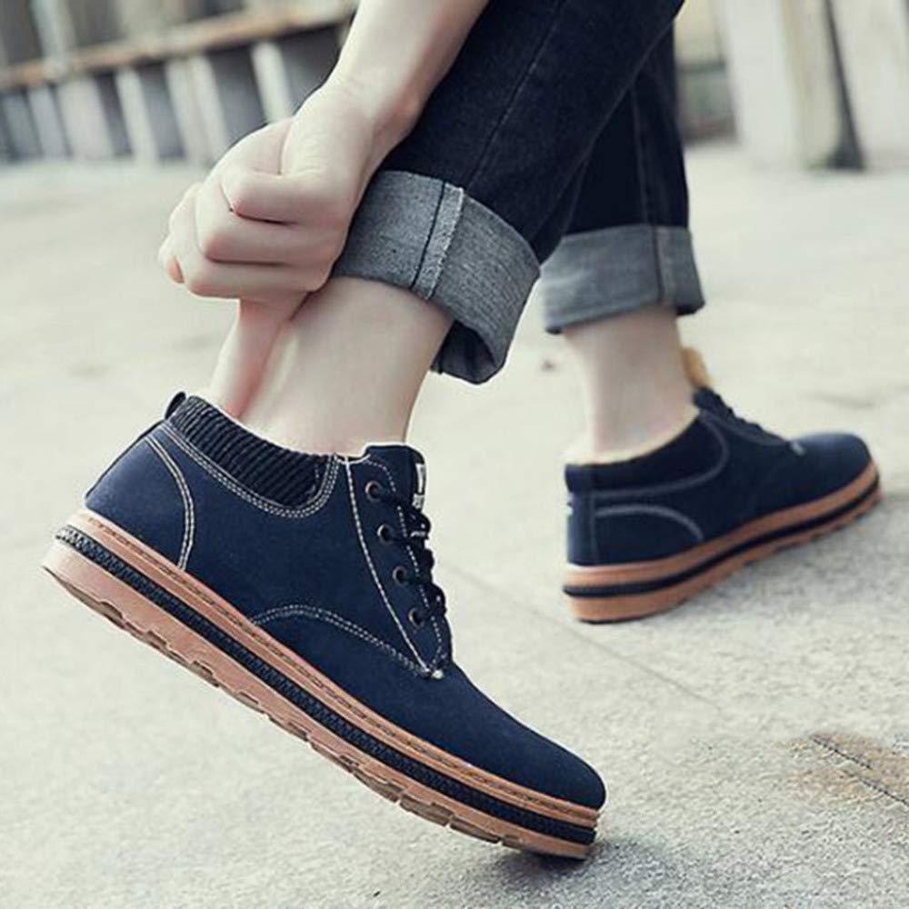 HUALQ M1147 Zapatos De Los Hombres De La Tendencia Tendencia Tendencia del Invierno Salvajes Ocasionales Cálidos Zapatos De Los Hombres del Deporte Zapatos 773256