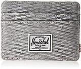 Herschel Supply Co. Men's Charlie Rfid, Rfid Light Grey Crosshatch, One...